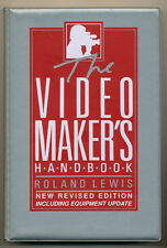 """:Roland Lewis libro """"Video Maker's hand book"""" 1991 in inglese D880"""