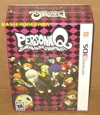 3DS Persona Q: Shadow of the Labyrinth The Wild Cards Premium Edition New Sealed