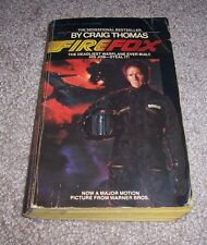 1982 FIREFOX Craig Thomas Deadliest Warplane Ever Built Soviet Mig-31 Paperback