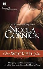 One Wicked Sin (Scandalous Women of the Ton) Cornick, Nicola Mass Market Paperb