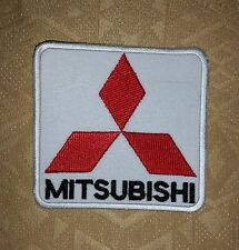 Mitsubishi Racing Biker Jacket Iron-on/ Sew-on Embroidered Patch/ Badge/ Logo