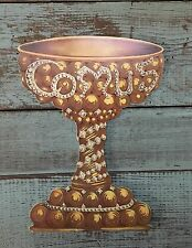 Mystic Krewe of Comus Mardi Gras Invitation 1973 Chalice New Orleans
