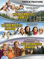 Adventures of the Wilderness Family Triple Feature (DVD, 2014) NEW 1 2 3