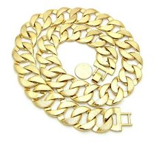 """Hip Hop Chunky Thick 25mm, 30mm 30"""" Cuban Link Chain Necklace (2 Sizes)"""