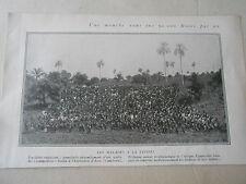 Une Mouche tue 50.000 Noirs par an Un Cliché au Cameroun Image Print 1926