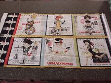 She Who Sews Panel J Wecker Frisch Quilting Treasures 23x42 Blocks Sewing