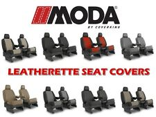 COVERKING SYNTHETIC LEATHER CUSTOM FIT SEAT COVERS FRONTS for TOYOTA TACOMA