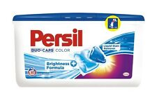 PERSIL Color Duo Caps 30 Gel Laundry Washing Machine Capsules with Stain Remover