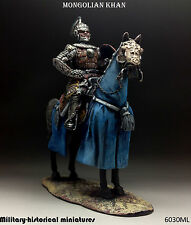 Tin soldiers 54 mm Mongolian Khan Hand painted