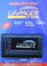Pepper Pager Mace Self Defense Pepper Spray Unit Has 2 Cans of Pepper spray NEW