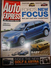 Auto Express 770 Ford Focus