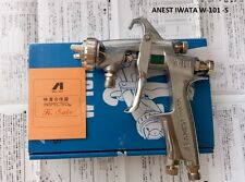 SPRAY GUN ANEST IWATA W-101 hand manual spray gun, 1.0/1.3/1.5/1.8mm, Japan made