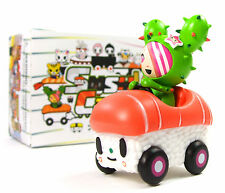 "Tokidoki SUSHI CARS - SANDY SALMON SUPER SPORT 3"" Mini Vinyl Figure Blind Box"