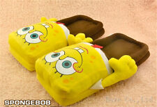sponge bob slippers Figure cartoon plush slipper 11inch SPONGEBOB Squarepants A