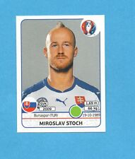 PANINI-EURO 2016-Figurina n.229- STOCH - SLOVACCHIA -NEW BLACK