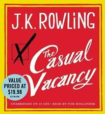 The Casual Vacancy by J. K. Rowling (2013, CD, Unabridged)