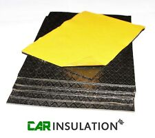 5 Sheets Bitumen Sound Deadening Classic Car Van Insulation Panel Automotive 2mm