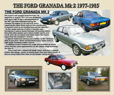 FORD GRANADA MK2 CLASSIC CAR MOUSE MAT LIMITED EDITION, GHIA,ETC