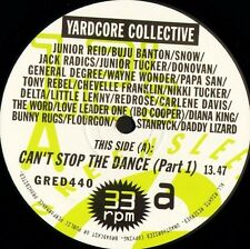 "YARDCORE COLLECTIVE can't stop the dance GRED 440 greensleeves 1994 12"" CS EX/EX"