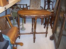 Cherry Diamond Carved Sofa Table or Entry Table  (T26)