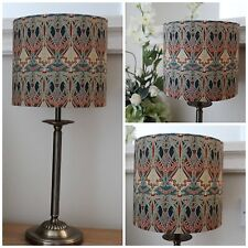 LIBERTY OF LONDON ART NOUVEAU IANTHE DRUM LAMPSHADE 20CM HANDMADE