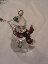 New Snowman Christmas ornament with name Jo by Ganz