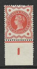½d Vermillion control I perf single very lightly MOUNTED MINT