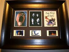 PINK FLOYD WALL Framed Trio Movie Film Cell Memorabilia Collectible Gift Cinema