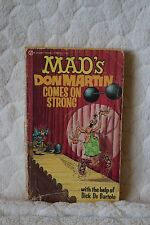 MAD's Don Martin Comes on Strong with the Help of Dick De Bartolo Book 1971