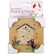 Pepper & Friends HONEY TO THE BEE Wooden Rubber Stamp Card Making Scrapbook