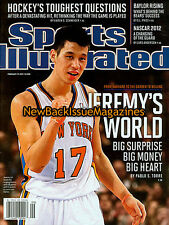 Sports Illustrated 2/12,Jeremy Lin,February 2012,NEW