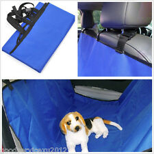 Waterproof Blue Car Rear Seat Protector Pet Dog Mat Cover Cushion For Volkswagen