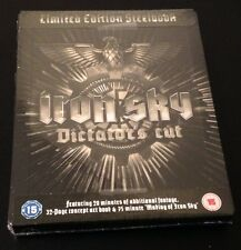 IRON SKY Dictators Cut Limited Ed Blu-Ray SteelBook UK. Region Free. New & Rare!