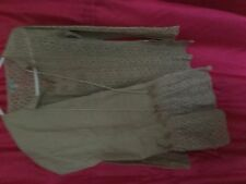 Tan Skirt Suit size 36 by Chic - Choc