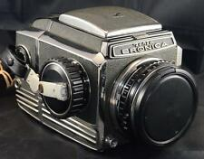Bronica S Film Camera with 75mm f/2.8 Nippon Nikkor P Lens Waist Level Finder