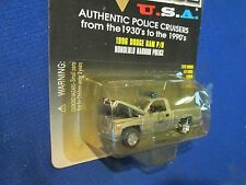 DODGE RAM PICKUP TRUCK HONOLULU HARBOR HI patrol racing champions 1:64 police