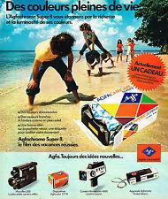 PUBLICITE ADVERTISING 114  1975  AGFA  film AGFACHROME  SUPER 8