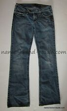 SILVER JEANS Tina Boot Womens 26 x 31.5 DISTRESSED Bootcut
