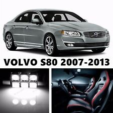 12pcs LED Xenon White Light Interior Package Kit for VOLVO S80 2007-2013