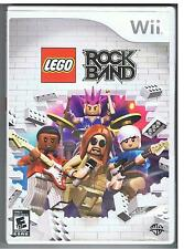 LEGO ROCK BAND NINTENDO WII GAME rockband
