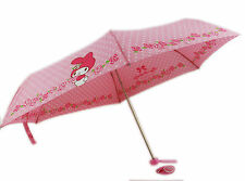 Brand new Sanrio My Melody Folding UMBRELLA (foldable) Parasol Ultralight #A