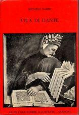 Vita di Dante- M.BARBI, 1963 Sansoni editore- ST512