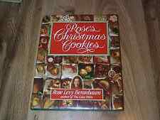 Rose's Christmas Cookies by Rose Levy Beranbaum 1st DJ ILLUS 1990