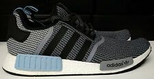 Adidas NMD R1 Size 14 Nomad Boost Clear Blue Black Runner Mens Shoe S79159
