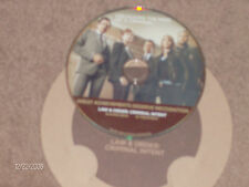 """""""Law & Order Criminal Intent""""! RARE DVD! 2 Episodes! Playing Dead & In Treatment"""