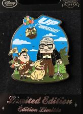 Disney Store Europe UK Pixar UP 5th Anniversary Pin Carl Dug Russell