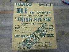 Flexco HD 190E conveyor/elevator belt fasteners (1-I.1)