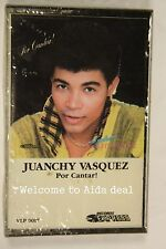 Por Cantar! by el galeno Juanchy Vasquez(Audio Cassette Sealed)Records Express