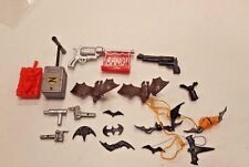 "6"" Action Figure Accessories Lot for Batman: Bang Gun Batarang Joker Parts Loose"