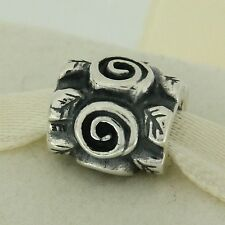 Authentic Pandora 790136 Rose Leaf Sterling Silver Bead Charm